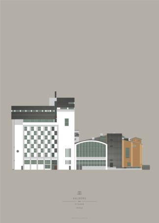 Aalborg Plakat | Nordkraft | Aalborg - Byen Vi Elsker