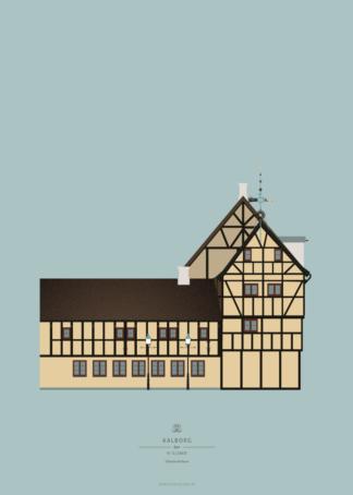 Aalborg Plakat | Håndværkerhuset | Aalborg - Byen Vi Elsker