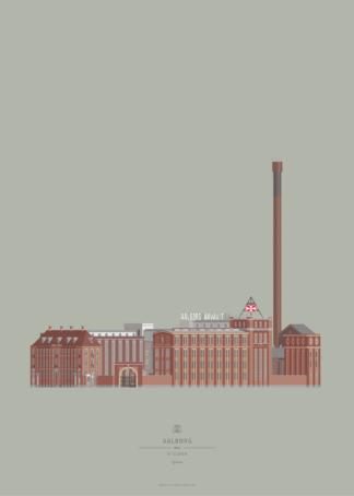 Aalborg Plakat | Spritten | Aalborg - Byen Vi Elsker